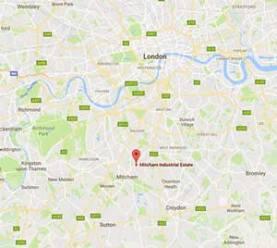 Self storage unit location in London