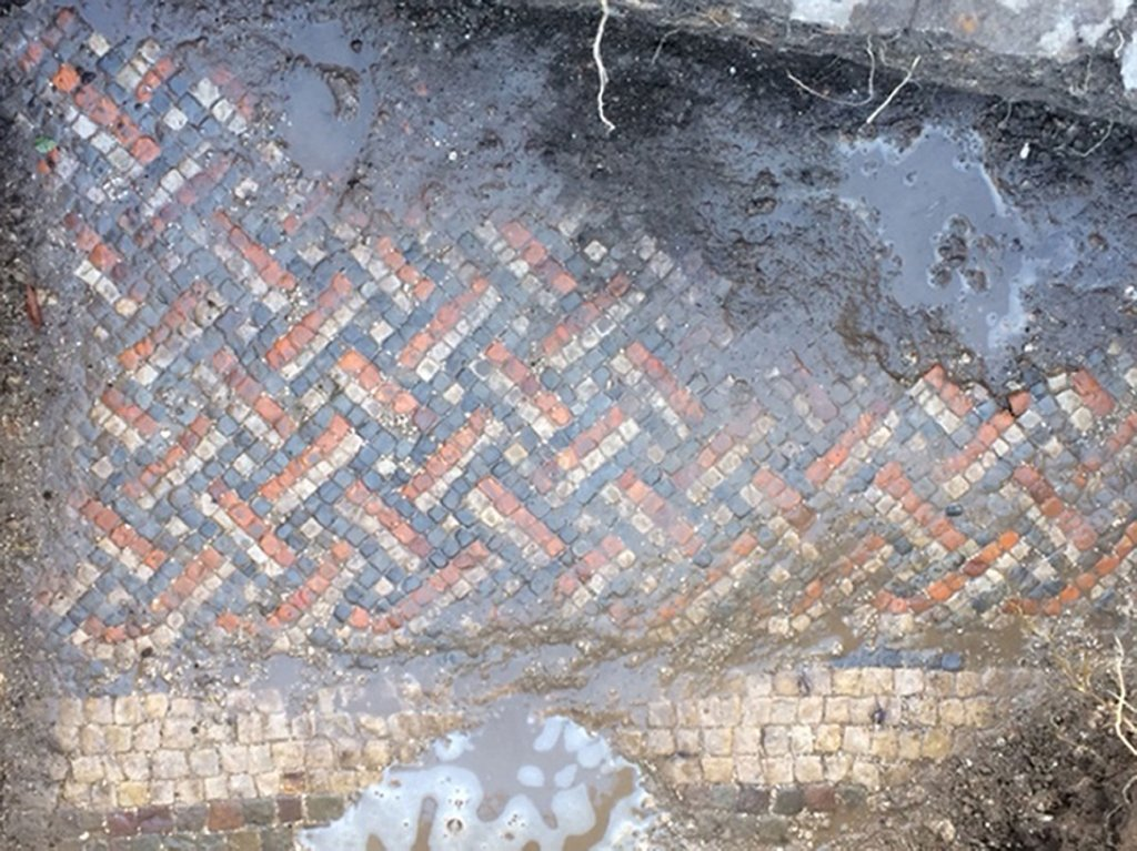 First find of Roman Mosaic