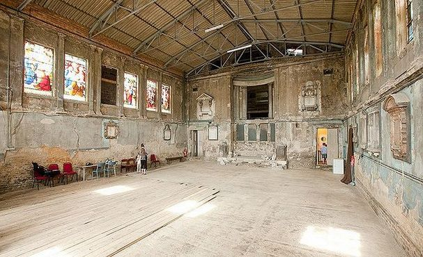 Abandoned building in London.
