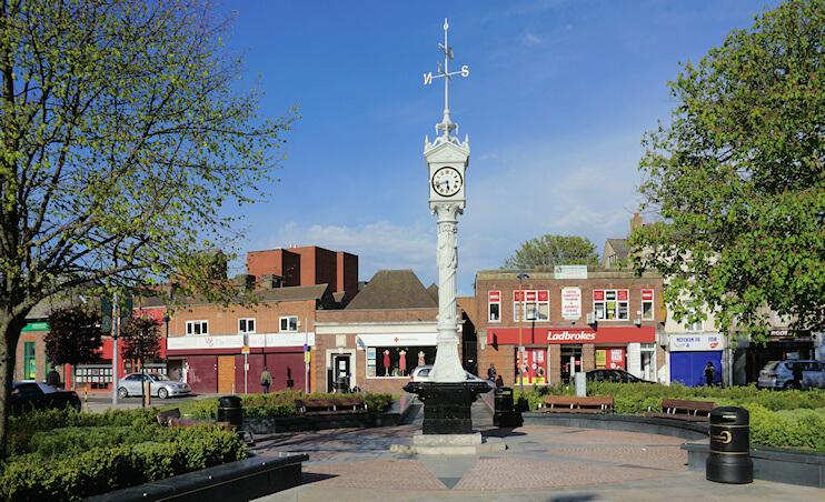 Bill Boaden Mitcham Clock Tower