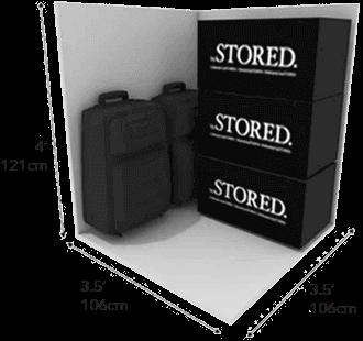 12 SQFT Closet Space