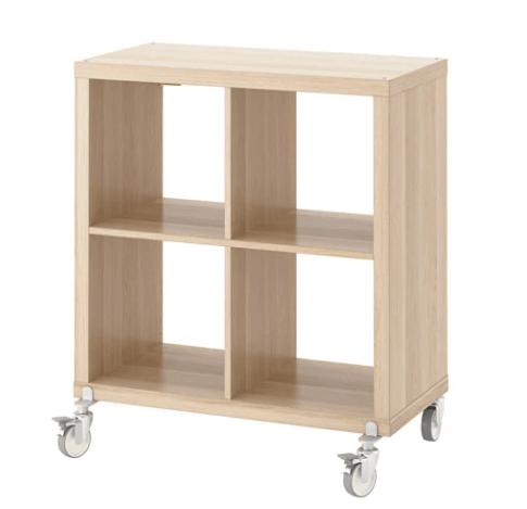 IKEA KALLAX Shelving Unit on Castors