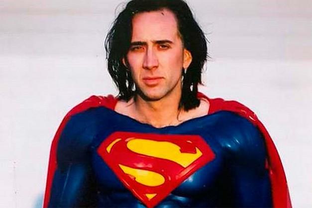 Nicolas Cage as Superman.