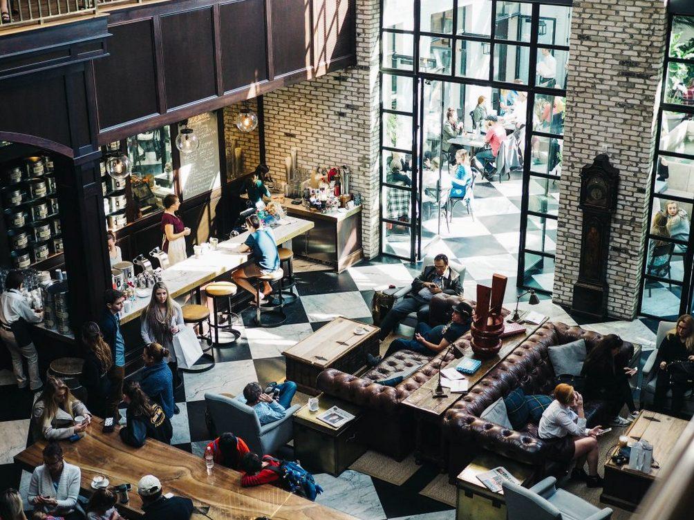 Cafes for freelancers