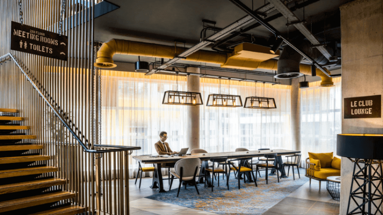 Novotel London Canary Wharf Coworking