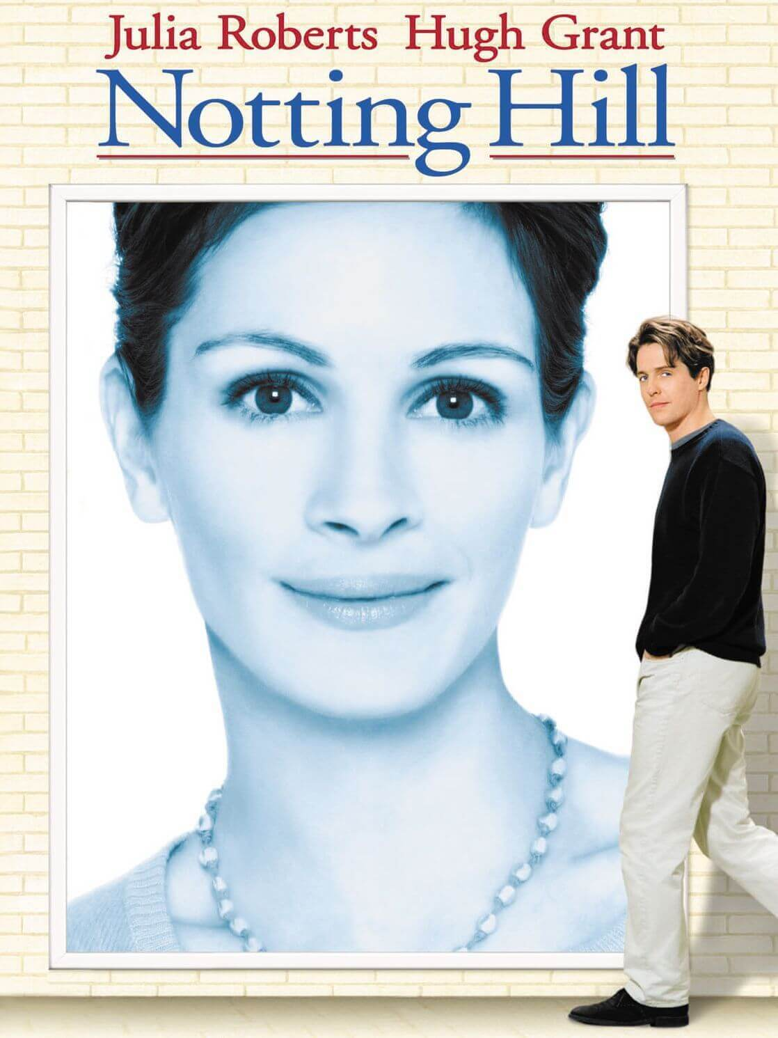 Notting Hill movie cover.