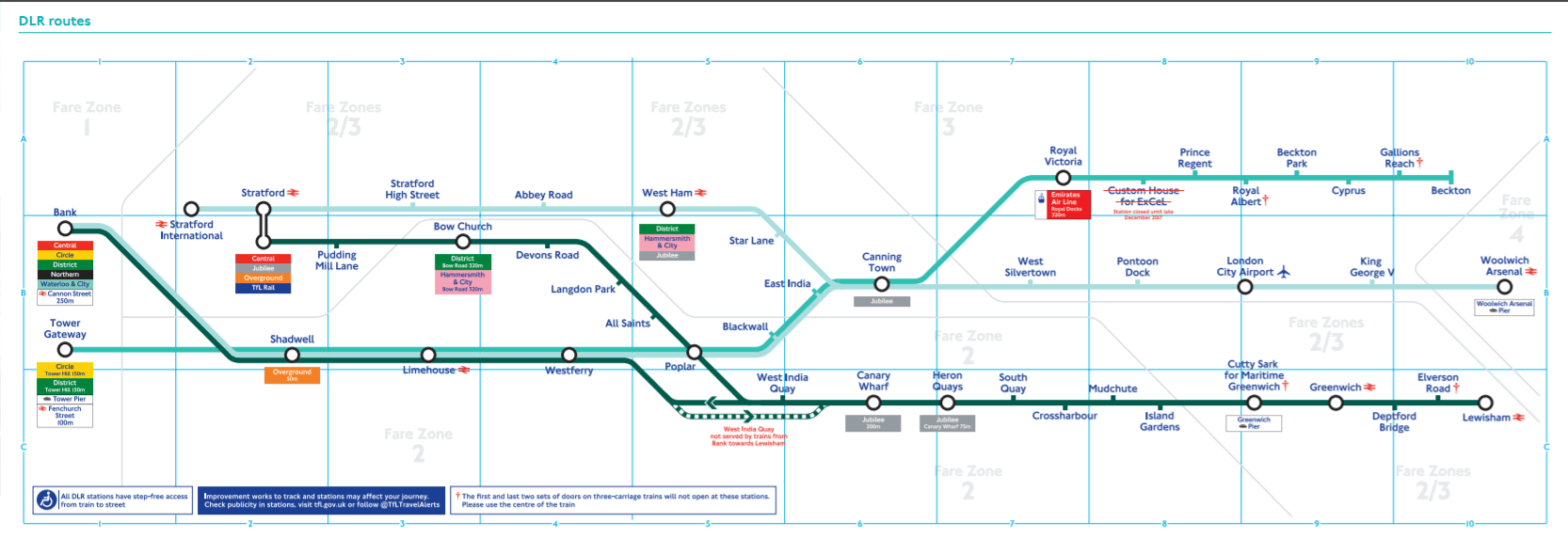 DLR map.