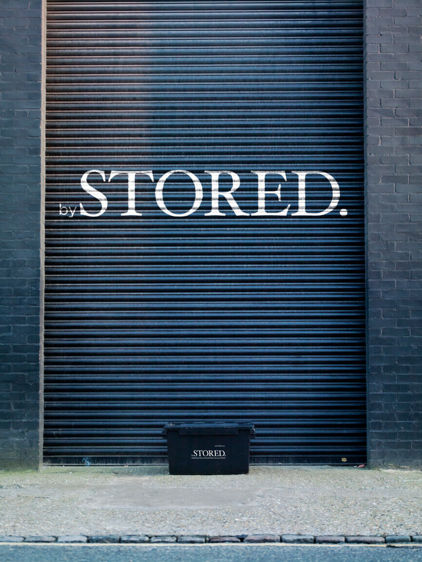 Front of the Storage Unit bySTORED