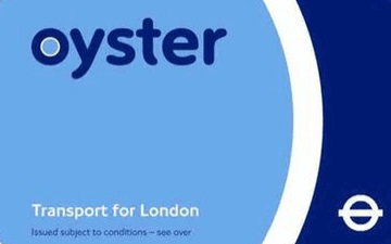 Oyster Card.