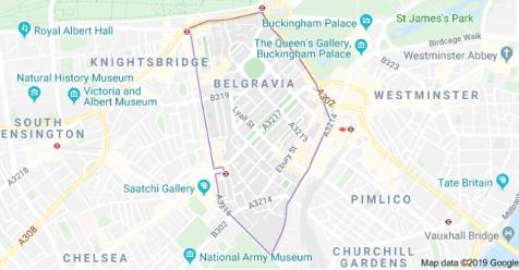 Belgravia on Google Maps.