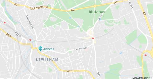 Blackheath on Google Maps.