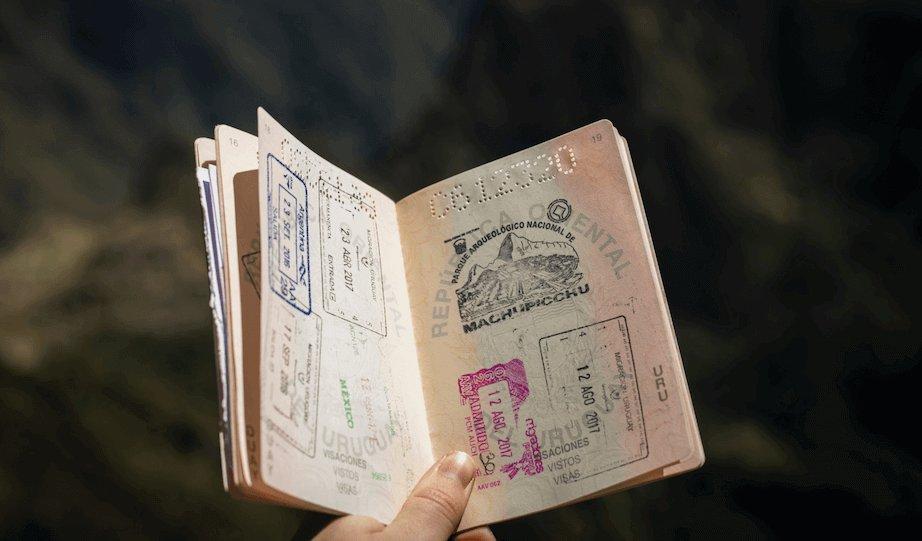 UK travel visa.