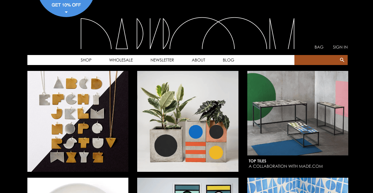 DARKROOM Website. Screenshot.