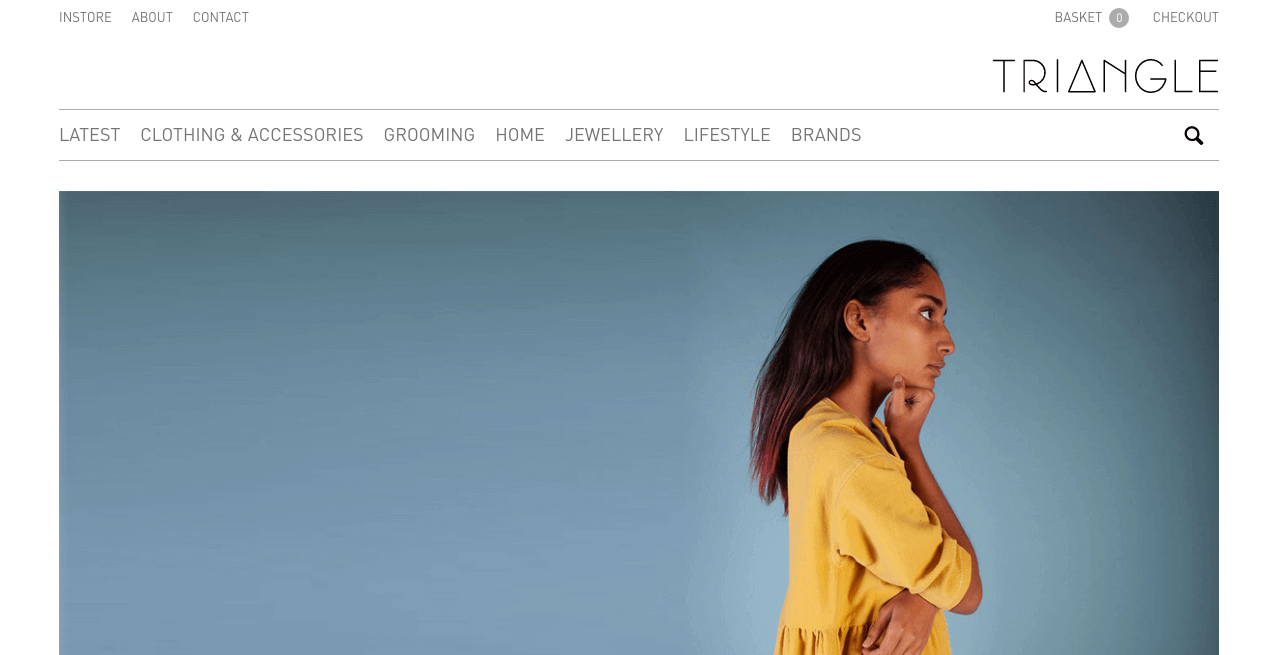 Triangle Store Website. Screenshot.