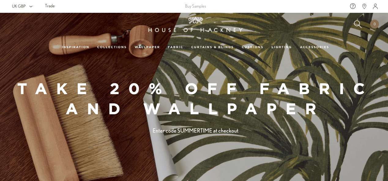 House of Hackney Website. Screenshot.