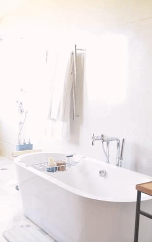Freestanding Pieces Inside Bathroom.