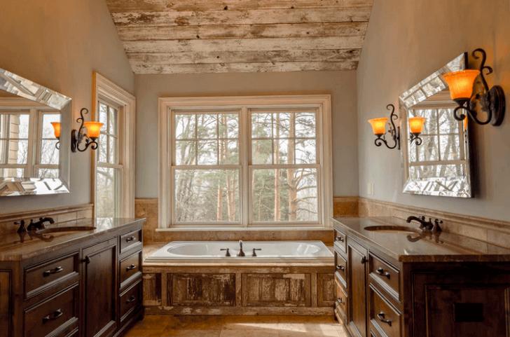 Bathtub Inside Bathroom.