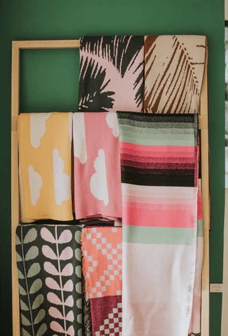 Towels Hanged.