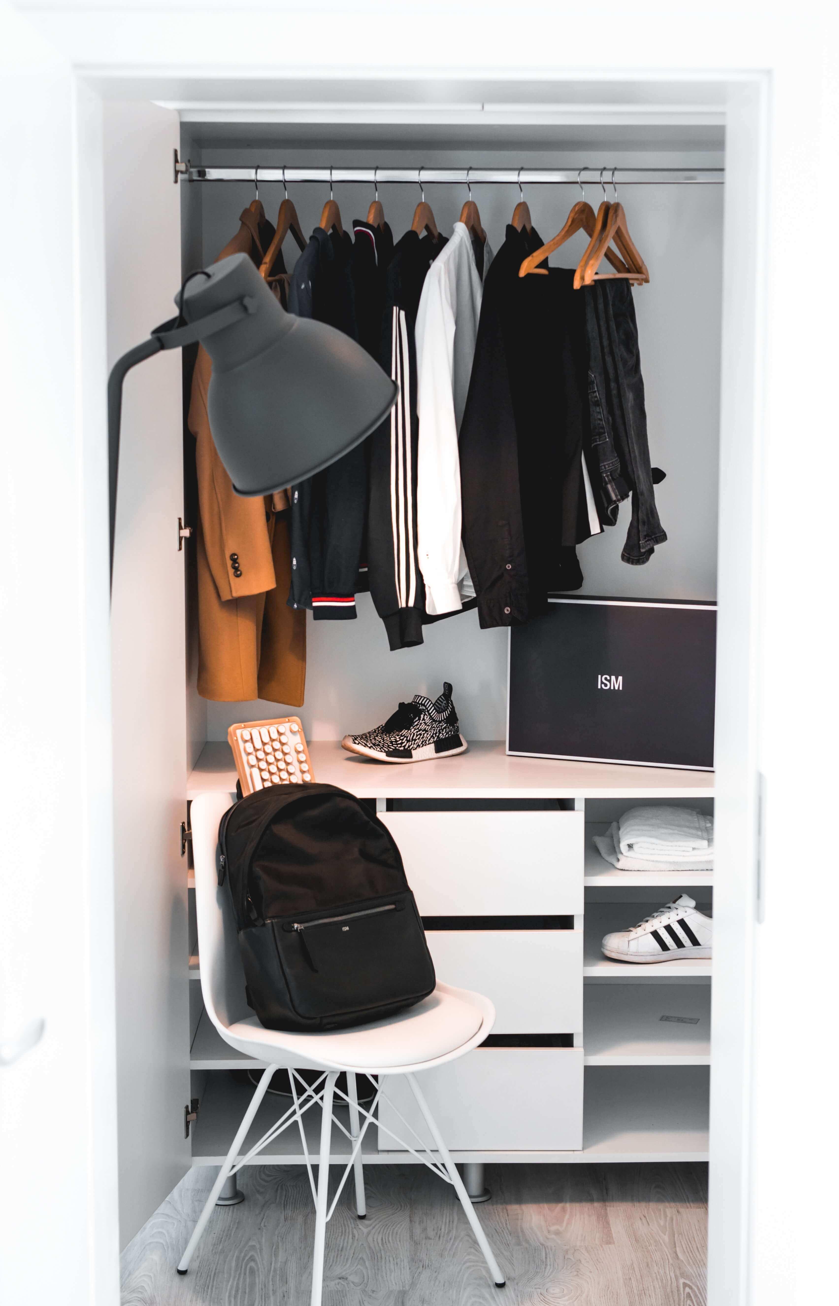 Young Man's Closet.
