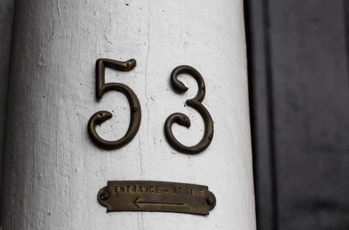 Updated House Number.
