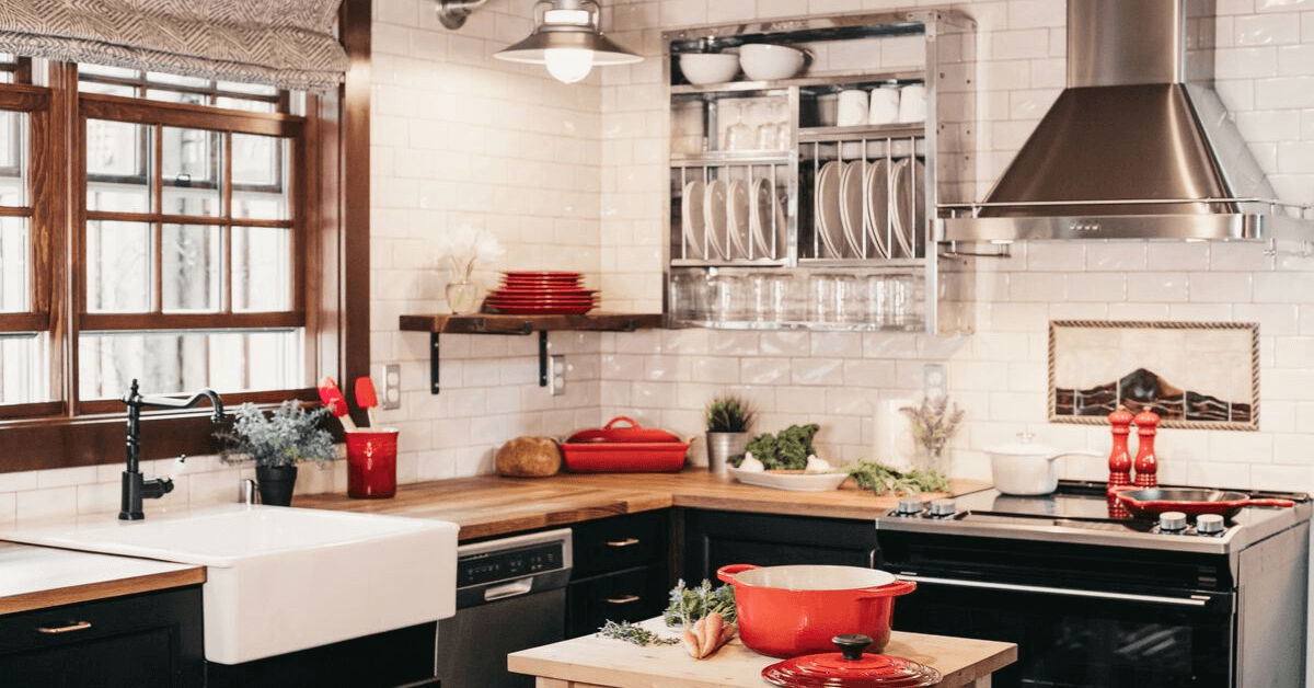 24 Kitchen Storage Ideas for Your Tiny Kitchen. Featured Image for Blog Post.