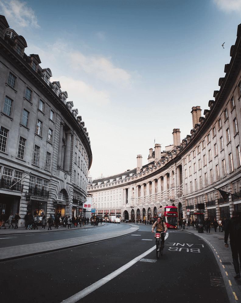A street in London.